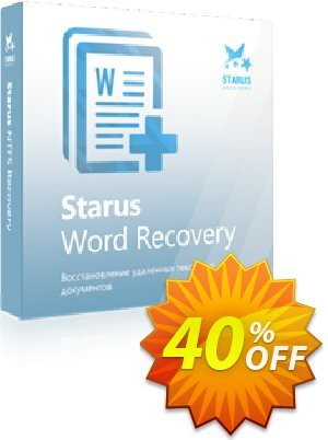 Starus Word Recovery Coupon, discount Starus Word Recovery dreaded sales code 2021. Promotion: dreaded sales code of Starus Word Recovery 2021