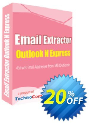 Email Extractor Outlook N Express Coupon discount Christmas OFF. Promotion: impressive sales code of Email Extractor Outlook N Express 2020