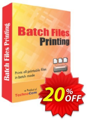 Batch Files Printing Coupon, discount Christmas OFF. Promotion: wonderful promo code of Batch Files Printing 2020