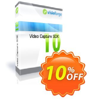 Video Capture SDK Standard - One Developer Coupon, discount 10%. Promotion: super promo code of Video Capture SDK Standard - One Developer 2019