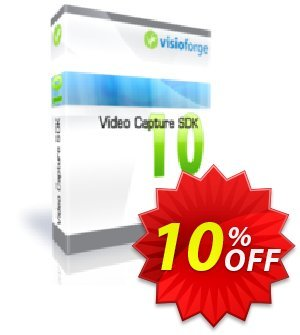 Video Capture SDK Professional - One Developer Coupon, discount 10%. Promotion: awesome discount code of Video Capture SDK Professional - One Developer 2020
