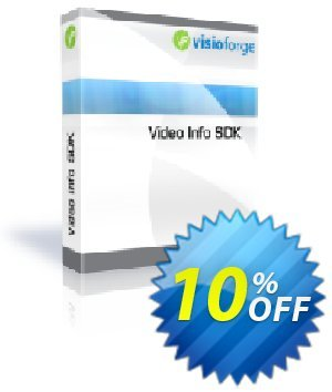 Video Info SDK Coupon, discount 10%. Promotion: special offer code of Video Info SDK 2020