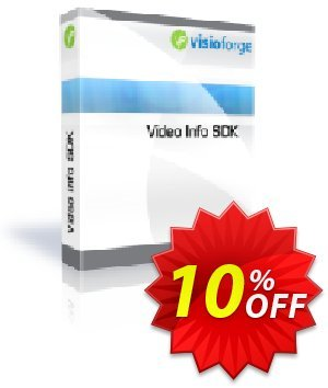 Video Info SDK with Source Code Coupon, discount 10%. Promotion: exclusive discount code of Video Info SDK with Source Code 2020