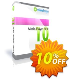 Media Player SDK Standard - One Developer Coupon, discount 10%. Promotion: best discount code of Media Player SDK Standard - One Developer 2019