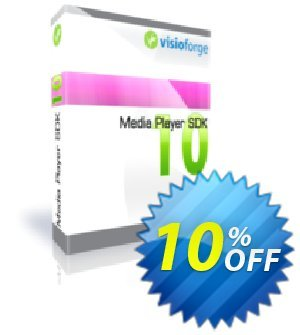 Media Player SDK Professional - One Developer Coupon, discount 10%. Promotion: awful promotions code of Media Player SDK Professional - One Developer 2019