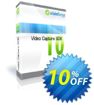 Video Capture SDK Premium - One Developer Coupon, discount 10%. Promotion: amazing deals code of Video Capture SDK Premium - One Developer 2020