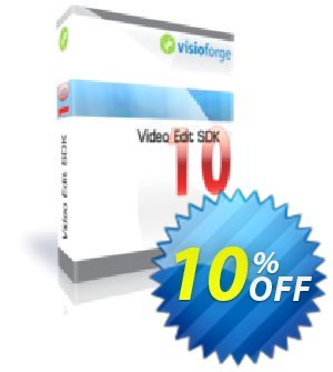 Video Edit SDK Standard- One Developer Coupon, discount 10%. Promotion: best discount code of Video Edit SDK Standard- One Developer 2020