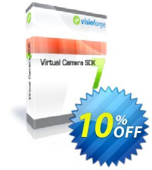Virtual Camera SDK Standard - One Developer Coupon, discount 10%. Promotion: wondrous deals code of Virtual Camera SDK Standard - One Developer 2019