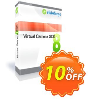 Virtual Camera SDK Professional - One Developer Coupon, discount 10%. Promotion: amazing promo code of Virtual Camera SDK Professional - One Developer 2020