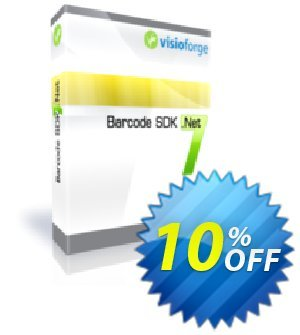 Barcode SDK .Net - One Developer Coupon, discount 10%. Promotion: excellent discount code of Barcode SDK .Net - One Developer 2020