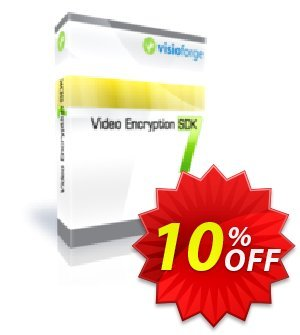 Video Encryption SDK - One Developer Coupon, discount 10%. Promotion: marvelous promotions code of Video Encryption SDK - One Developer 2020