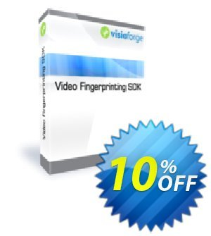 VisioForge Fingerprinting SDK Coupon, discount 10%. Promotion: impressive promotions code of VisioForge Fingerprinting SDK 2020