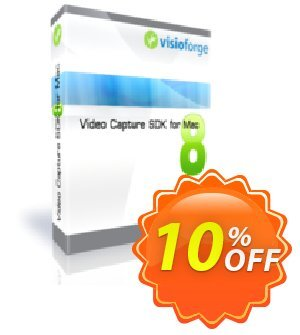 Video Capture SDK for Mac - One Developer Coupon, discount 10%. Promotion: dreaded discounts code of Video Capture SDK for Mac - One Developer 2020