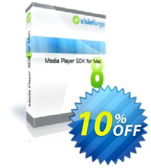 Media Player SDK for Mac - One Developer Coupon, discount 10%. Promotion: exclusive discounts code of Media Player SDK for Mac - One Developer 2020