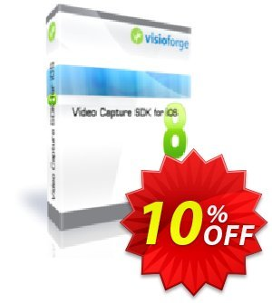 Video Capture SDK for iOS - One Developer Coupon, discount 10%. Promotion: special promotions code of Video Capture SDK for iOS - One Developer 2020