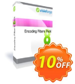 Encoding Filters Pack - One Developer Coupon, discount 10%. Promotion: exclusive sales code of Encoding Filters Pack - One Developer 2020