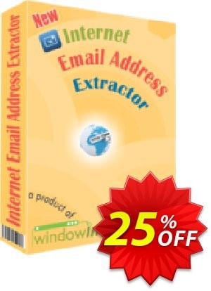 Internet Email Address Extractor Coupon, discount 25% OFF. Promotion: amazing promotions code of Internet Email Address Extractor 2019