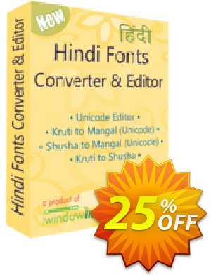 Hindi Fonts Converter and Editor Coupon, discount 25% OFF. Promotion: wondrous deals code of Hindi Fonts Converter and Editor 2019