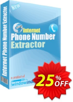 Internet Phone Number Extractor Coupon, discount 25% OFF. Promotion: big sales code of Internet Phone Number Extractor 2019