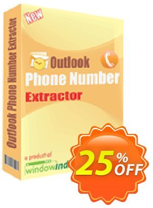 Outlook Phone Number Extractor Coupon, discount 25% OFF. Promotion: staggering discount code of Outlook Phone Number Extractor 2019