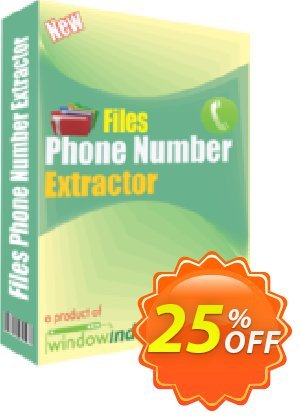 WindowIndia Files Phone Number Extractor Coupon discount Christmas OFF. Promotion: stunning discount code of Files Phone Number Extractor 2020