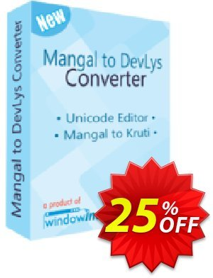 Mangal to DevLys Converter Coupon, discount 25% OFF. Promotion: awful promo code of Mangal to DevLys Converter 2019