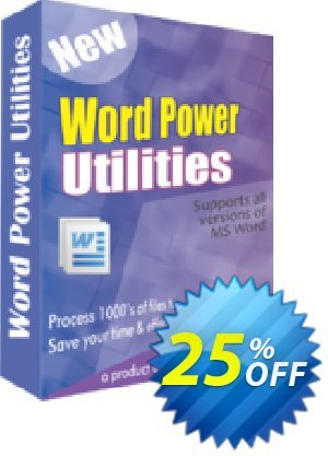WindowIndia Word Power Utilities Coupon discount Christmas OFF. Promotion: big offer code of Word Power Utilities 2020