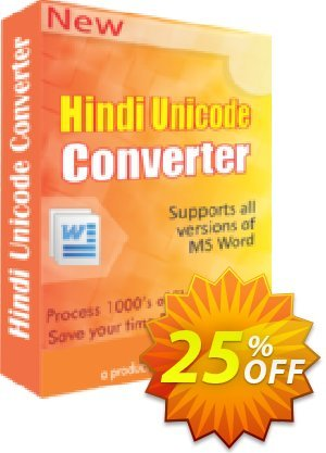 Hindi Unicode Converter Coupon, discount 25% OFF. Promotion: wondrous promotions code of Hindi Unicode Converter 2019