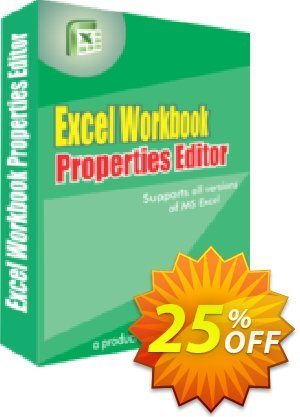Excel Workbook Properties Editor Coupon, discount 25% OFF. Promotion: stirring discounts code of Excel Workbook Properties Editor 2019