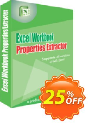 WindowIndia Excel Workbook Properties Extractor 優惠券,折扣碼 Christmas OFF,促銷代碼: exclusive discounts code of Excel Workbook Properties Extractor 2020