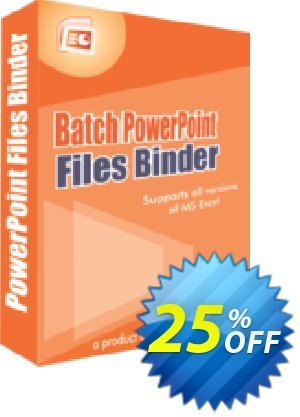 Batch PowerPoint Files Binder Coupon, discount 25% OFF. Promotion: wonderful promotions code of Batch PowerPoint Files Binder 2019