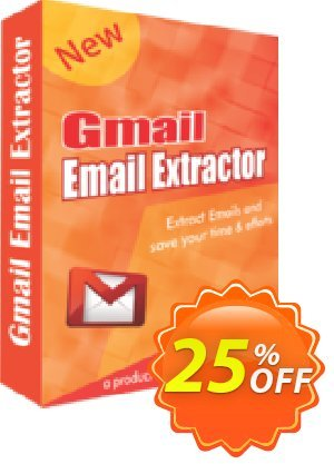 Gmail Email Extractor Coupon, discount 25% OFF. Promotion: awesome sales code of Gmail Email Extractor 2019