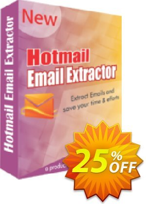 Hotmail Email Extractor Coupon, discount 25% OFF. Promotion: staggering promo code of Hotmail Email Extractor 2019