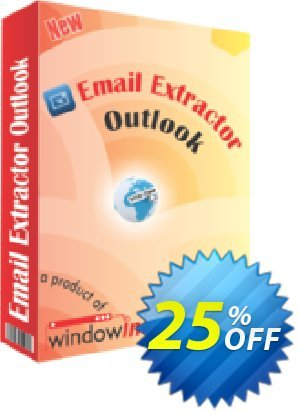 WindowIndia Email Extractor Outlook割引コード・Christmas OFF キャンペーン:exclusive deals code of Email Extractor Outlook 2020