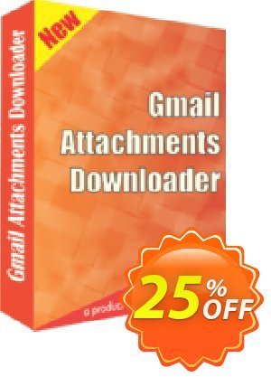 Gmail Attachments Downloader Coupon, discount 25% OFF. Promotion: stirring discounts code of Gmail Attachments Downloader 2019