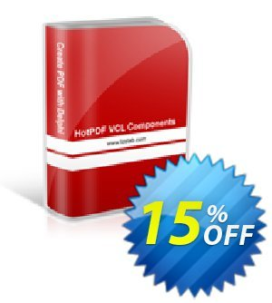 HotPDF Single License Coupon, discount 15% OFF. Promotion: special sales code of HotPDF Single License 2019