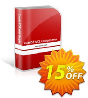 HotPDF Enterprise License 優惠券,折扣碼 15% OFF,促銷代碼: staggering promotions code of HotPDF Enterprise License 2019