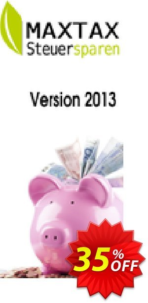 MAXTAX Steuersparen Standard Coupon, discount NEUKUNDEN-AKTION 2015. Promotion: excellent sales code of MAXTAX Steuersparen Standard 2020