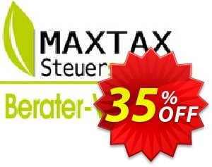 MAXTAX - Beraterversion 50 Akten Coupon, discount NEUKUNDEN-AKTION 2015. Promotion: special sales code of MAXTAX - Beraterversion 50 Akten 2021