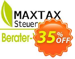 MAXTAX - Beraterversion 100 Akten discount coupon NEUKUNDEN-AKTION 2015 - awesome offer code of MAXTAX - Beraterversion 100 Akten 2020
