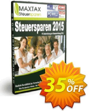 MAXTAX Steuersparen 2015 DELUXE Coupon, discount NEUKUNDEN-AKTION 2015. Promotion: special deals code of MAXTAX Steuersparen 2015 DELUXE 2019