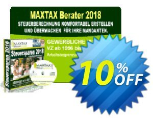 MAXTAX - Beraterversion 25 Akten Coupon, discount MAXTAX SPAR-ABO. Promotion: dreaded sales code of MAXTAX - Beraterversion 25 Akten 2021