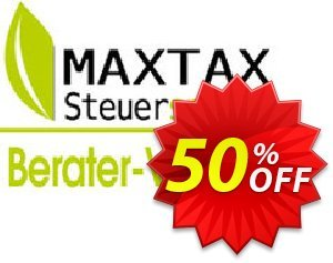 MAXTAX - Beraterversion Nachlizensierung Coupon, discount MAXTAX-Starter Spar-ABO. Promotion: awful sales code of MAXTAX - Beraterversion Nachlizensierung 2020