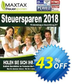 MAXTAX Steuersparen Nachlizensierung/Upgrade Coupon, discount MAXTAX SPAR-ABO. Promotion: excellent discounts code of MAXTAX Steuersparen Nachlizensierung/Upgrade 2019