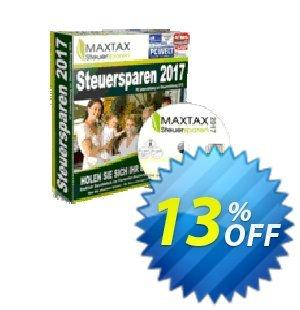 MAXTAX Unternehmer 2018 für Selbstständige -  jährliches SPAR- Abonnement Coupon, discount MAXTAX SPAR-ABO. Promotion: formidable sales code of MAXTAX Unternehmer 2020 für Selbstständige -  jährliches SPAR- Abonnement 2020