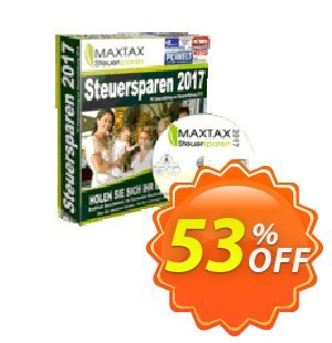 MAXTAX Steuersparen 2017 Starter-SPAR-ABO Coupon discount MAXTAX SPAR-ABO - imposing discount code of MAXTAX Steuersparen 2017 Starter-SPAR-ABO 2020