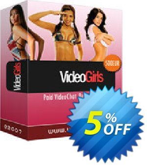 VideoGirls BiZ Turnkey PPV Video Chat Script Unlimited License Source Resell Rights Coupon discount Give Me Five 5% Discount. Promotion: awful discount code of VideoGirls BiZ Turnkey PPV Video Chat Script Unlimited License Source Resell Rights 2019
