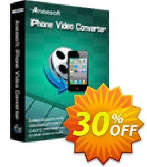 Aneesoft iPhone Video Converter Coupon discount Aneesoft iPhone Video Converter staggering offer code 2020 - staggering offer code of Aneesoft iPhone Video Converter 2020