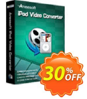 Aneesoft iPod Video Converter Coupon, discount Aneesoft iPod Video Converter imposing discount code 2021. Promotion: imposing discount code of Aneesoft iPod Video Converter 2021