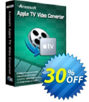 Aneesoft Apple TV Video Converter discount coupon Aneesoft Apple TV Video Converter stirring promo code 2021 - stirring promo code of Aneesoft Apple TV Video Converter 2021